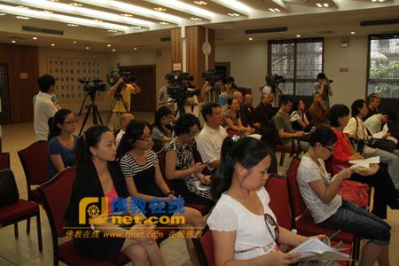 广州光孝寺举行2010年广东禅宗六祖文化节新闻发布会