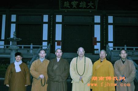 中佛协副会长圣辉法师一行考察广西桂林栖霞寺等寺院