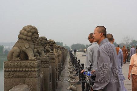 中国佛学院2011级新生参观卢沟桥 抗日战争纪念馆等