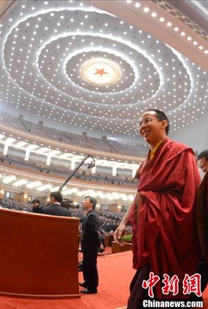 映图:十一世班禅大师 - 明藏菩萨 - 上塔山房de博客