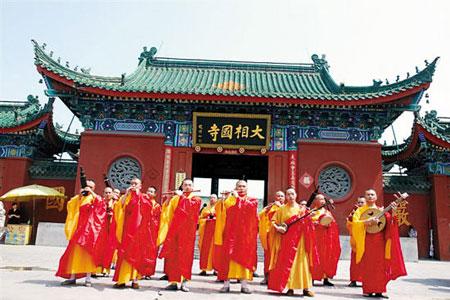 大相国寺佛乐团将首次在广州公开演出