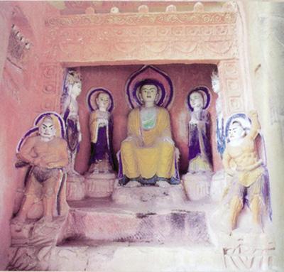四川 巴中/西龛弥勒菩萨造像