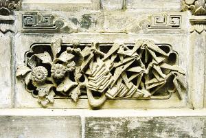 巴巴寺砖雕 精湛技艺传承古韵 王玉贵