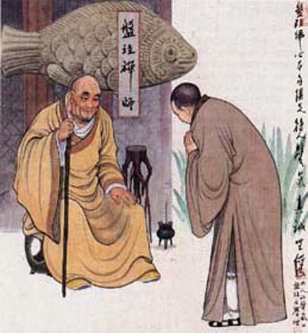 如果你能若能悟透明代栯堂禅师这四十首禅诗,那么恭喜您,您就证悟到罗汉境地 - 莲池佛地 - 莲池佛地